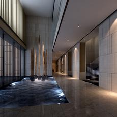 Corridor 110 3D Model