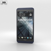 HTC Desire 816 Blue 3D Model