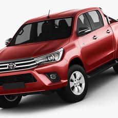 Toyota Hilux 2016 Double Cab 3D Model