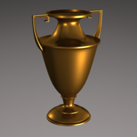 Brass Urn and/or Trophy 3D Model