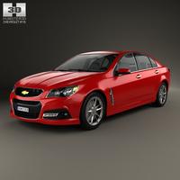 Chevrolet SS 2014 3D Model