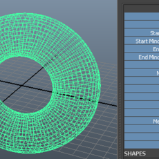 Mega Torus Pro | Geometry Generator for Maya 2.0.0 (maya plugin)