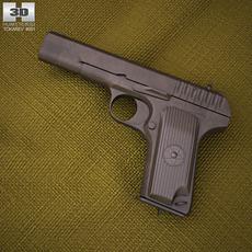 TT Pistol 3D Model
