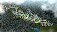 City Planning 071 3D Model