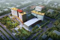 Hospital building 006 3D Model