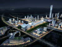 Railway terminal 009 3D Model