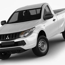 Mitsubishi L200 Triton 2015 Single Cab 3D Model