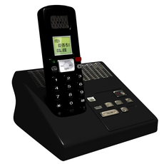 Cordless Phone 3D Model