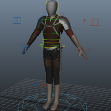 Knight Proxy Rig 1.0.0 for Maya