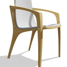 New Edge Chair 3D Model
