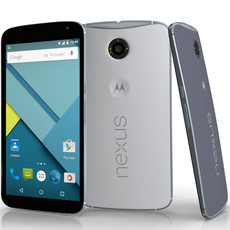 Google Motorola Nexus 6 3D Model