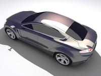 Ford Iosis Concept 3D Model