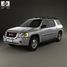 GMC Envoy XUV 2004 3D Model