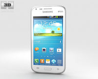 Samsung Galaxy Core Chic White 3D Model