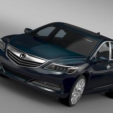 Honda Legend Hybrid 2015 3D Model