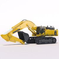 Mining Excavator Komatsu PC800 3D Model