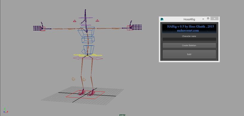 Maya auto rigging tool free download