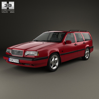 Volvo 850 wagon 1992 3D Model
