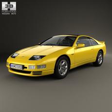 Nissan 300ZX (Z32) 1989 3D Model