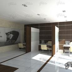 Office 01 3D Model