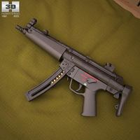 Heckler & Koch MP5 3D Model