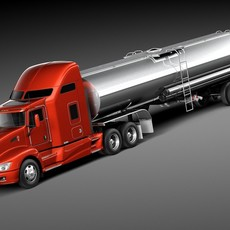 Kenworth T660 Tanker 2015 3D Model