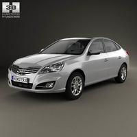 Hyundai Elantra Yue Dong 2011 3D Model