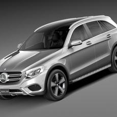 Mercedes-Benz GLC 2016 3D Model