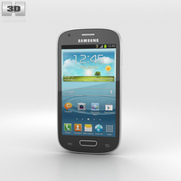 Samsung Galaxy S III Mini Onyx Black 3D Model