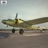 Dornier Do 17E 3D Model
