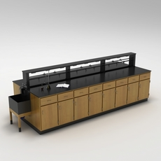 Laboratory Table 01 3D Model