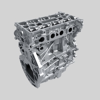 Engine block 02 3D Model