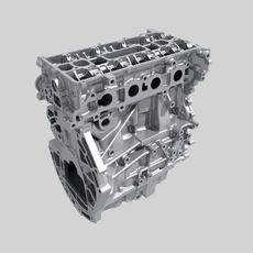 Engine block 02 3D Model