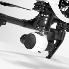 DJI Inspire 1 quadcopter 3D Model