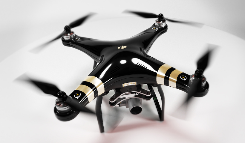 DJI Phantom3 Professional 3D Model