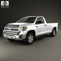 Toyota Tundra Single Max 2013 3D Model
