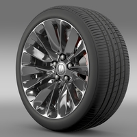 Acura RLX wheel 3D Model