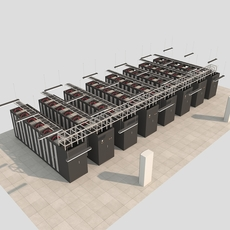 IDC ROOM 3D Model