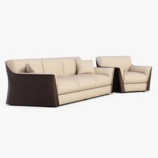 Sofa VITTORIA 3D Model
