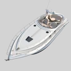 Yacht 02 3D Model