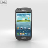 Samsung I8200 Galaxy S III Mini VE Gray 3D Model