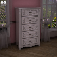 Ashley Exquisite Chest 3D Model