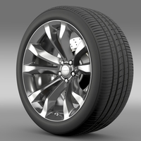 Chrysler 300C Platinum 2015 wheel 3D Model