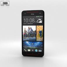 HTC Butterfly S Black 3D Model