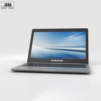 Samsung Chromebook 2 13.3 inch Grey 3D Model