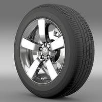 Dodge T wheel 3D Model
