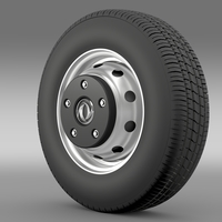 DongFeng Captain wheel 3D Model