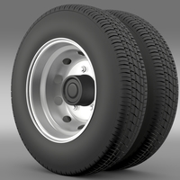 DongFeng Captain wheel2 3D Model