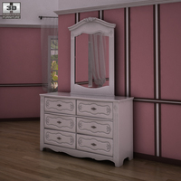 Ashley Exquisite Dresser 3D Model