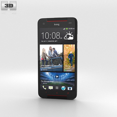 HTC Butterfly S Gray 3D Model